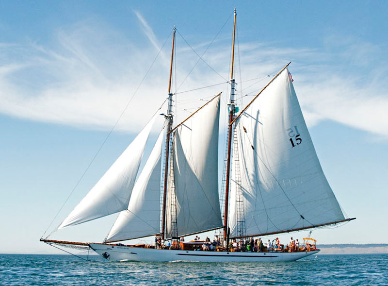 Schooner Adventuress at Port of Port Townsend, Spearheading Maritime Discovery Initiative