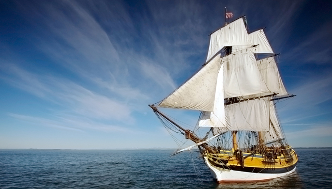 Lady Washington Repaired in Port Townsend Boatyard