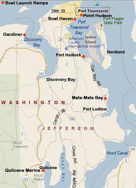 Boat Launches Port Of Port Townsend