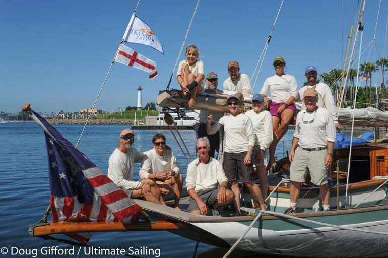 Historic Schooner Martha Competing in TRANSPAC